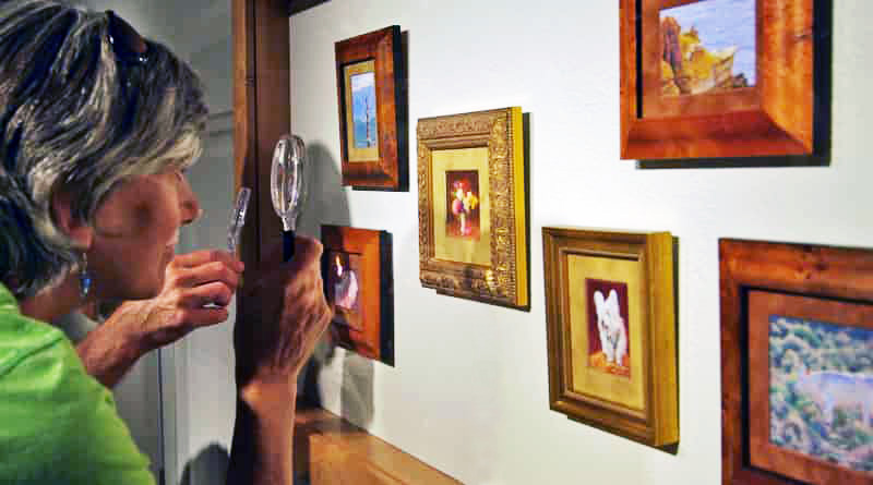 April 5 &#8211; May 4: <br>Miniature Group Exhibit 2018<br>Local &#038; Tri-State Artists